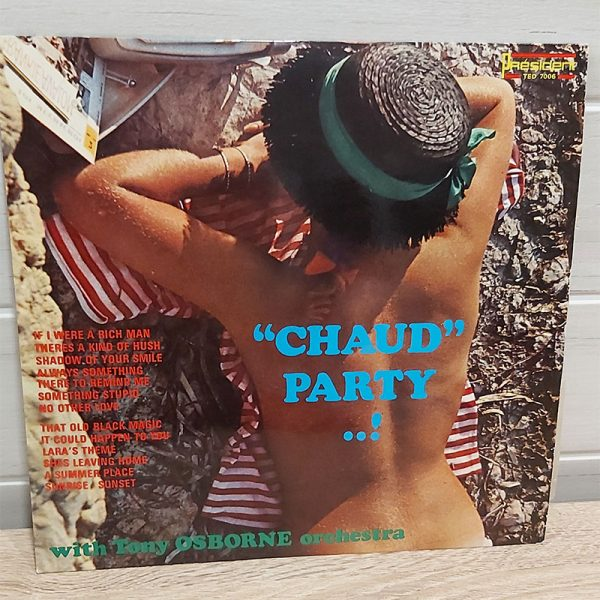Chaud party vinyle